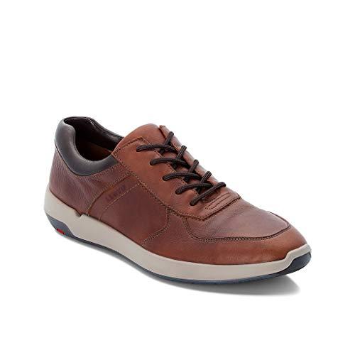 LLOYD Herren Low-Top Sneaker Argos, Männer Sneaker,Halbschuh,Schnürschuh,Strassenschuh,Business,Freizeit,Havanna/T.D.Moro,46 EU / 11 UK