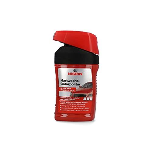 NIGRIN 72945 Hartwachs-Colorpolitur Rot 300 ml
