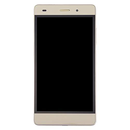 YANGJ Pantalla y digitalizador para Huawei P8 Lite Pantalla LCD y Digitalizador Ensamblaje Completo con Marco (Negro) (Color : Gold)