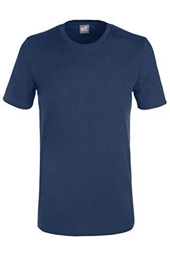 Puma Workwear T-shirt voor heren, ronde hals, maat S-5XL - Kleur: antraciet of blauw 4XL blauw