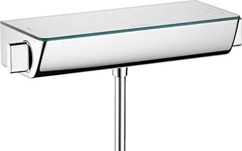hansgrohe Ecostat Select Aufputz Duschthermostat, für 1 Funktion ohne Adapter zur Renovation, Chrom