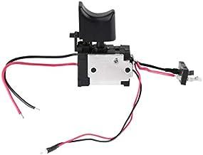 REFURBISHHOUSE 7.2 V - 24 V Batería De Litio Interruptor De Taladro Sin Cable Interruptor De Control De Velocidad Con Luz Peque?a