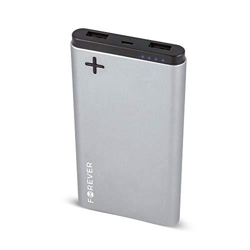 Acce2S Externer Notfall-Akku, 10 A, 2 x USB, für Wiko Ridge 4G – Fab 4G