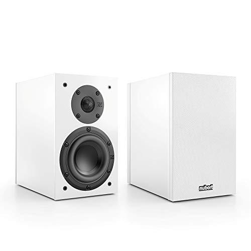 Nubert nuBox 303 Dipollautsprecherpaar | Lautsprecher für Heimkino & HiFi | Musikgenuss auf hohem Niveau | Passive Surroundboxn mit 2 Wege Technik | Kompaktlautsprecher Weiß | 2 Stück