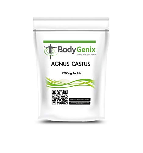 HIGH Strength Agnus CASTUS 2200mg Tablets Regulate Hormones, Natural HRT Vegetarian (30)
