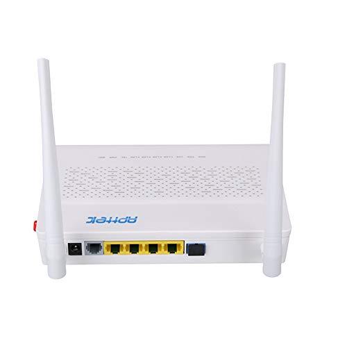 Fiber Optic Wireless 1GE+3FE+WiFi+Pots FTTH GPON ONU Device English Version