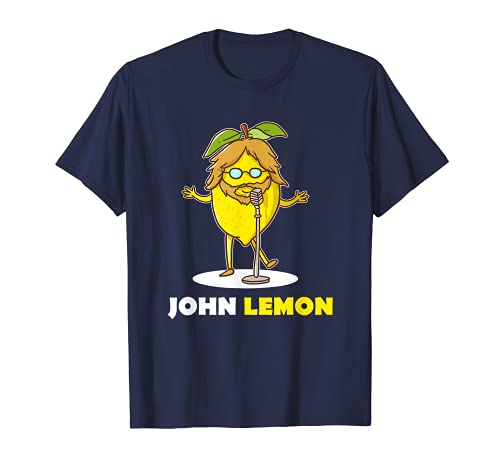 John Lemon Lennon - Gafas de sol, diseño pop musical Camiseta