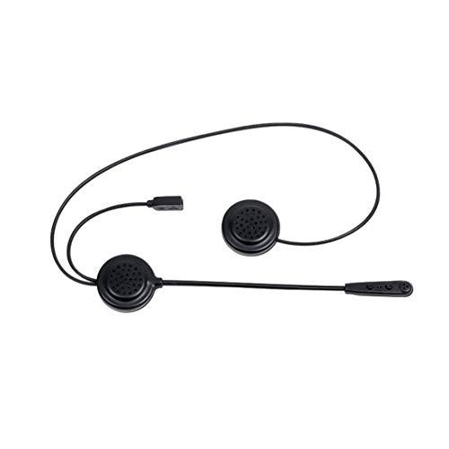 COFFEE CAT Interfono Casco Bluetooth per Moto Control De Ruido 12 Horas Tiempo De ReproduccióN Bluetooth 4.1 Auriculares Intercomunicador Altavoz Auriculares