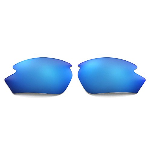 Walleva Ersatzgläser für Rudy Project Rydon Sonnenbrille - 12 Mehrfache Optionen (Eisblau)