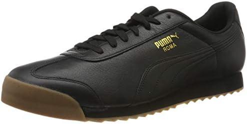 Amazon.com | PUMA Men's Roma Classic Gum Low-Top Sneakers ...