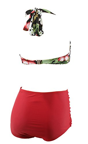 Aloha-Beachwear Damen Bikini A1023 Mehrfarbig Gr. 40 - 3