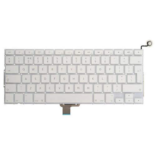 YuYue Tastatur-Layout mit Power-Taste, kompatibel mit MacBook 13 Unibody A1342 2009-2010