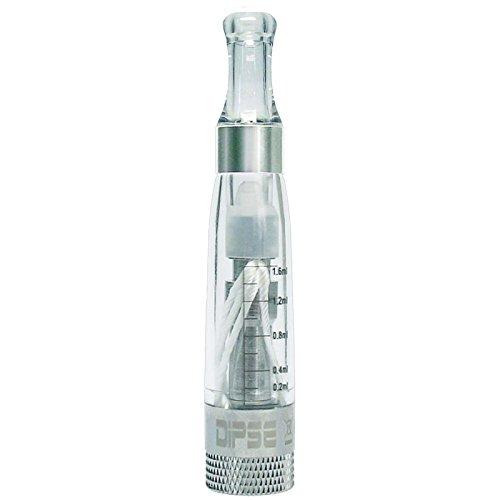 DIPSE CE4 V3 Wechselkopf Verdamfer/Clearomizer für jede ego-T eshisha / 510 e Zigarette - perfekt für Viel-Dampfer durch austauschbare Coil Heads
