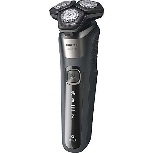 Philips Herrenrasierer S 5587/10 Series 5000 LED-Display Nass-Trocken SkinIQ