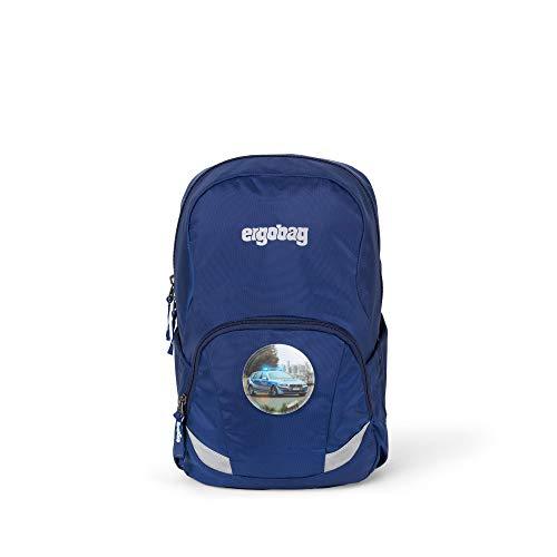 Ergobag Ease L Blaulicht, Freizeitrucksack Kindergartenrucksack, 10 Liter, 370 g, Blau