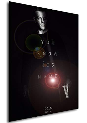 Instabuy Poster Jason Bourne - Theaterplakat - A3 (42x30 cm)