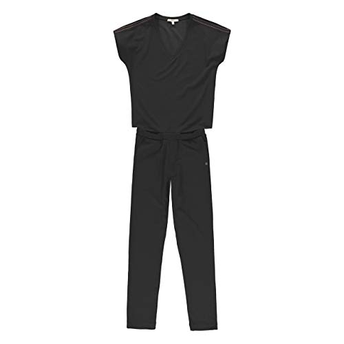 Garcia Women's S00113 Jumpsuit, Black, S