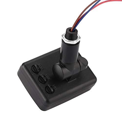 Emoshayoga Sensor de Movimiento infrarrojo Detector de Infrarrojos Sensor PIR automático Interruptor de luz Jardín para el hogar