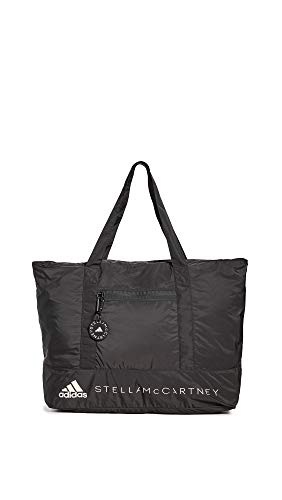 adidas by Stella McCartney Women's Large Tote, Black/White, One Size