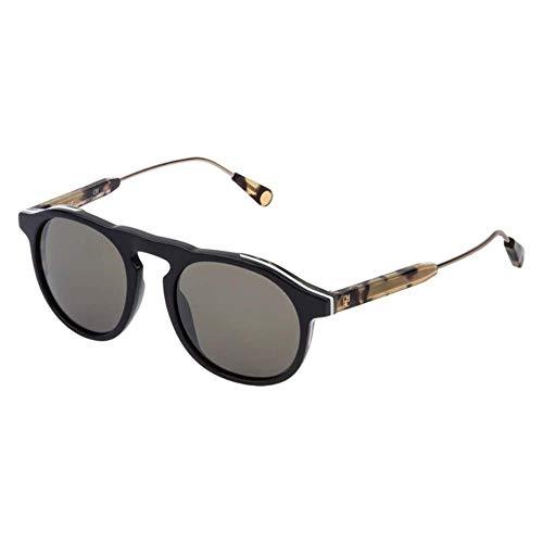 Carolina Herrera SHE808500AAU Gafas, SHINY DARK GREY, 50/20/145 para Mujer