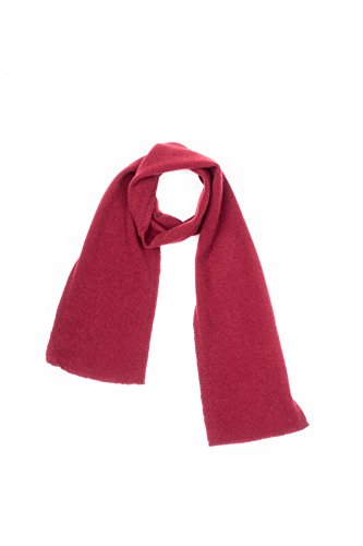DALLE PIANE CASHMERE - Mini Schal aus 100prozent Kaschmir - für Frau, Farbe: Bordeaux, Einheitsgröße