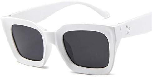 RJGOPL des lunettes de soleil Leonlionclassique carréoculosde sol feminino vintage gradient oculos de sol tons feminino designer luxo léopard lunettes uv400 White Gray