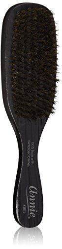 Annie Professional Wave Brush 100% Natural Boar Medium Bristle