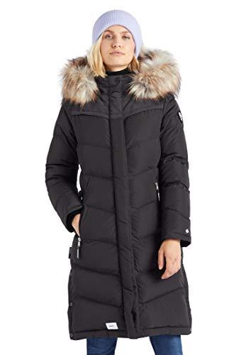 khujo Lubeck Long 4 Frauen Wintermantel schwarz L 100% Polyester Basics, Casual Wear, Streetwear