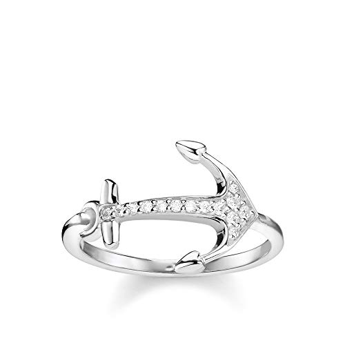 THOMAS SABO Damen Ring Anker 925er Sterlingsilber TR2234-051-14