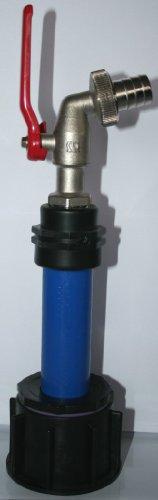 Manchon AME90R13_MK_T avec tube en plastique 100 mm dN32 metallkugelhahn aG 1 \