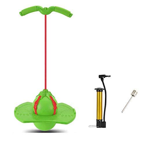 MWY Saltador Bola de Salto for Adultos, tolva de Balance de Bola de Bola de la tolva, Juguete de Gimnasia de Salto, for niños Adultos, Navidad (Color : Green)
