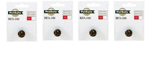 PetSafe RFA-188 3v Battery, Economy, 4-Pack