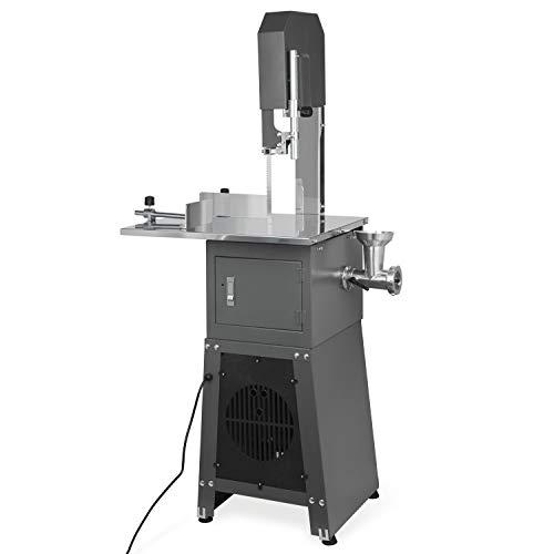 Vertes 2 in 1 Knochenbandsäge mit Fleischwolf (550 Watt Elektromotor, Blattgeschwindigkeit 4 m/s, Effizientes Arbeiten)