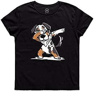 ART T-SHIRT-Dog Dabbing Tişört