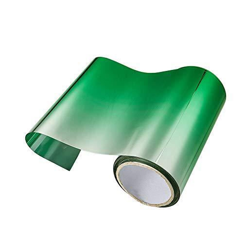 Nrpfell Auto T?Nung Folie Top Front Windschutzscheibe Folie Sonnen Schutz Farbverlauf 20X150Cm (Gruen)