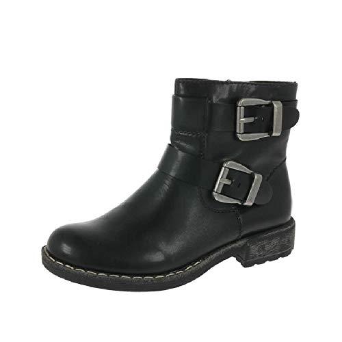 Rieker Womens Djerba Rits enkel laarzen 74659-00