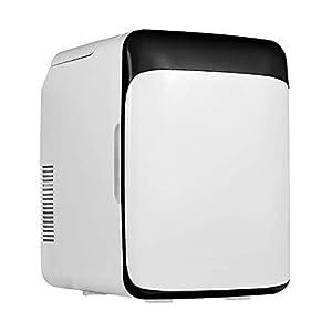 NMSLA Mini Réfrigérateur 10 Litre Portable Refroidisseur Chauffe-Chaud Élégant Réfrigérateur Compact Réfrigérateur Léger Réfrigérateur Véhicule Congélateur De Véhicule pour Chambre À Coucher