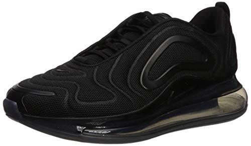 Nike Air Max 720, Scarpe da Corsa Uomo, Black/Black/Anthracite, 42.5 EU