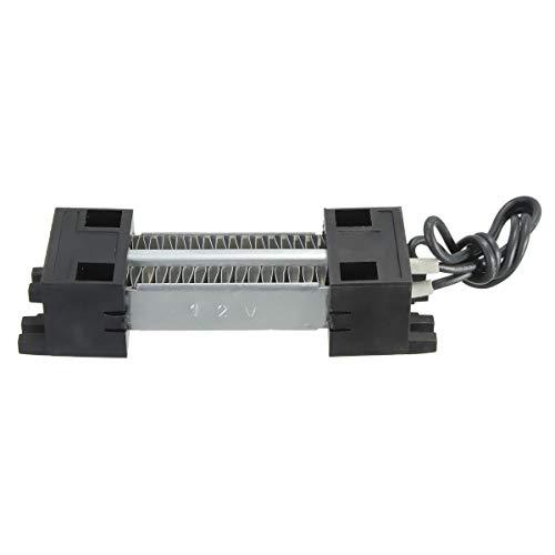 LAN-ZHENS Electronics Kit Calentador de Calefactor PTC Calentador eléctrico Termostático de cerámica 12V 100W for Home,Auto,Machine