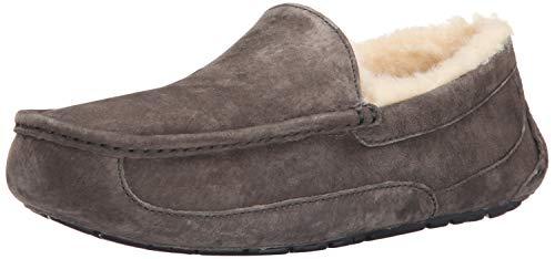 UGG Ascot, Zapatillas de Estar por casa para Hombre, Gris (Charcoal), 40 EU