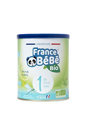 FRANCE BéBé BIO - Lait infantile pour nourrisson bébé 1er âge en poudre - Lait fabriqué en France - 13 Vitamines 12 Minéraux - 400g