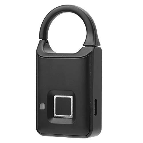 Wosune Serrure d'armoire d'empreintes digitales Design Professionnel Design Compact Pratique à Utiliser Bureau Multifonction Smart Lock pour dortoir