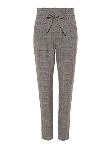 Vero Moda NOS Vmeva Hr Loose Paperbag Check Pant Noos broek voor dames