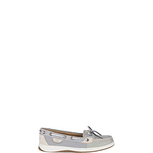 Sperry Women's, Angelfish Boat Shoe Grey Silver 7 M