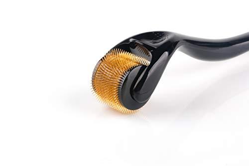 Sodacoda Dermaroller - 540 Mikro-Nadeln aus Titan und Edelstahl, Nadellänge: 2.50mm