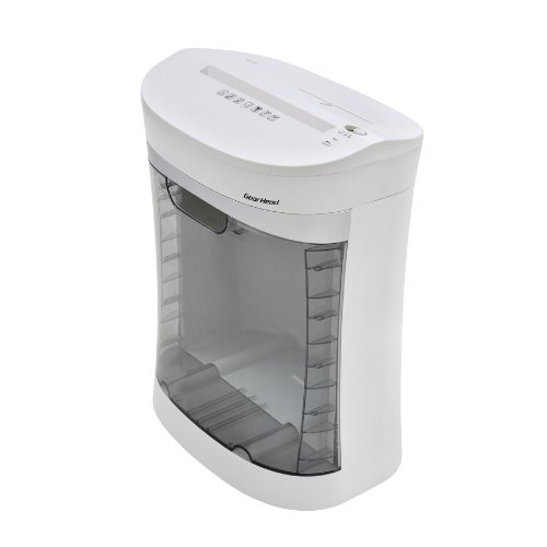 Gear Head PS1200CXW 12 Sheet Cross-Cut Shredder with CD/DVD Slot Home/Office (White)
