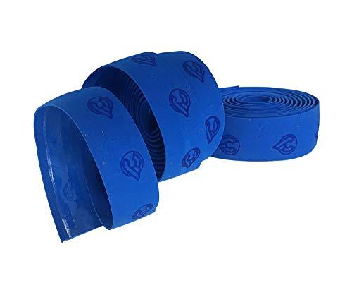 Cinelli Unisex– Erwachsene Gel Ribbon Lenkerband, blau, One Size