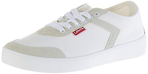 Levi's, Zapatillas Mujer, Blanco (R White 51), 40 EU