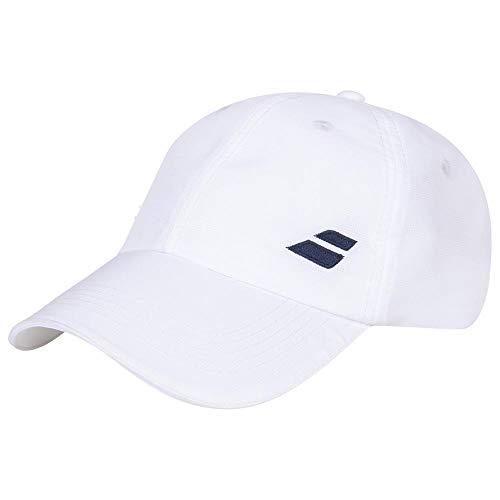 Babolat Basic Logo Cap Junior Gorra, Unisex niños, White/White, Talla Única