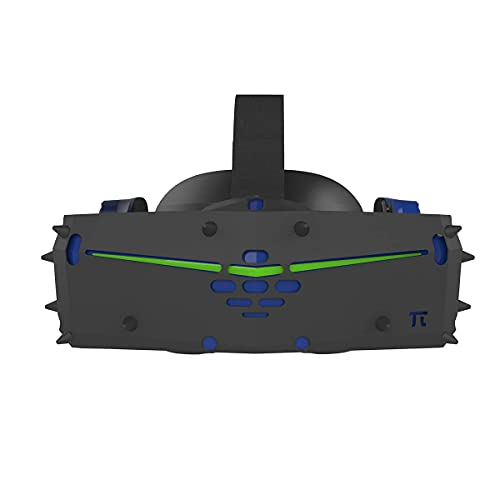 Pimax Vision 8K X VR Headset with Silicone Protective Cover Bundle, Black Color